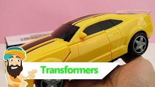 Das lauteste Spielzeug Auto der WELT? | Transformers Bumblebee Auto mit LICHT und MUSIK | Guru