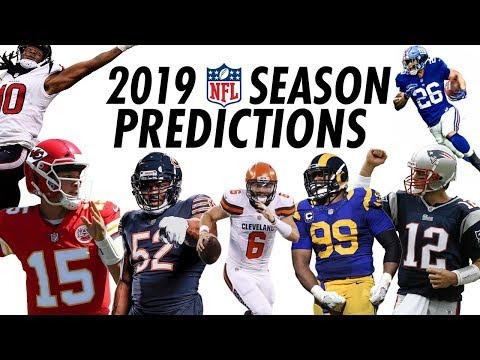 2019 NFL Season Predictions
