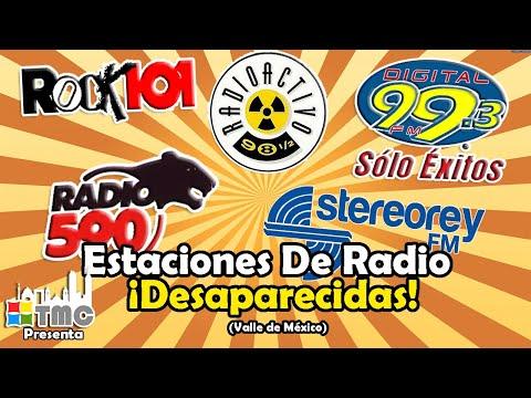 ESTACIONES DE RADIO DESAPARECIDAS DE LA CIUDAD DE MÉXICO PARTE 1 | ¿LAS RECUERDAS?