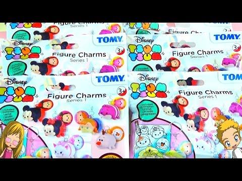 Ouverture de 6 Pochettes SURPRISES Disney Tsum Tsum ! MAGNIFIQUES CHARMS Tsum tsum !