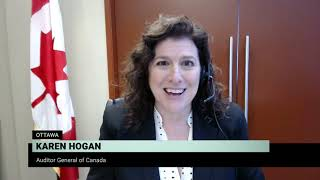 Karen Hogan, Auditor General of Canada, on her latest report