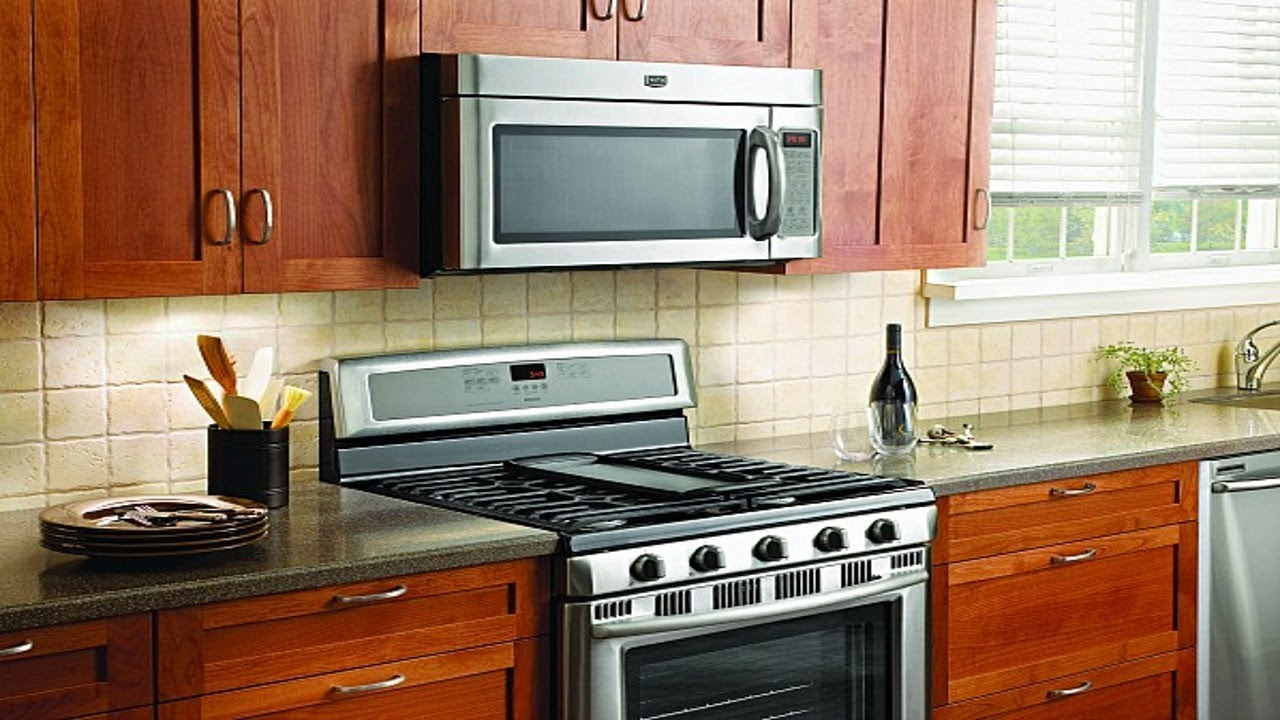 how to install an over the range microwave the handyman