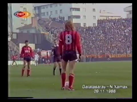 09 novembre 1988 Galatasaray - Neuchatel Xamax  5-0