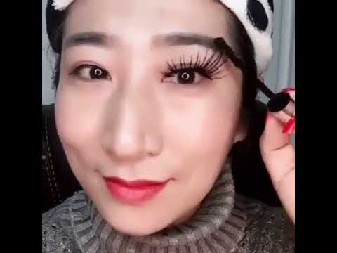 6fb1172bfb4 2PCS DDK 4D Silk Fiber Lash Mascara Eyelashes Long Extension Waterproof  Cosmetic