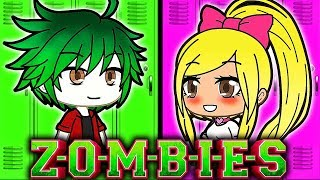 💚ZOMBIES VS CHEERLEADERS💗 Disney Zombies Fan Movie (Ep 1) | Gachaverse Roleplay