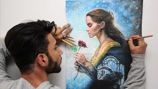 Beauty and the Beast 2017 - Drawing by Ahmed Rajeh