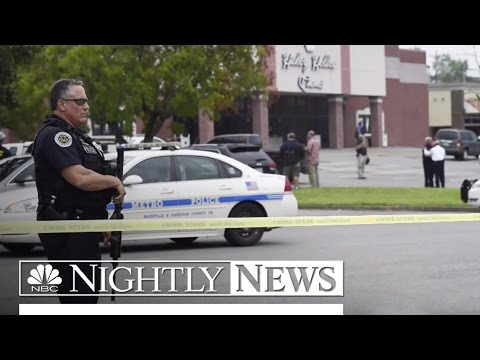 Hatchet-Wielding Gunman Killed at Tennessee Movie Theater | NBC Nightly News