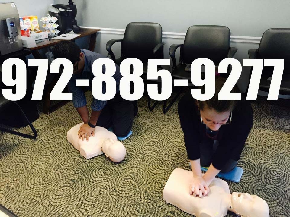 Cpr Aed Certification In Dallas Youtube