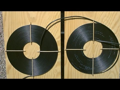 "DIY Solar Water Heater! - The ""Dual Spiral"" black poly Solar Water Heater!  Easy DIY (modular/chain)"