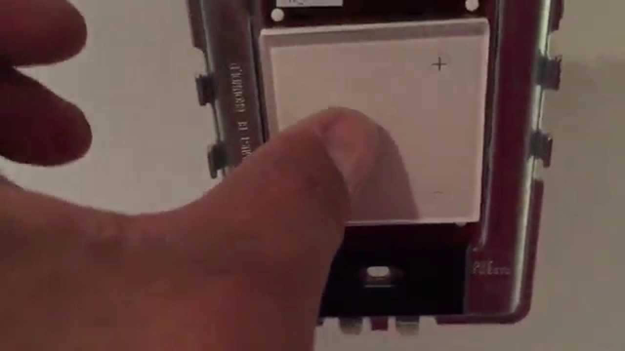 how to install and program a 3 way touch dimmer switches from legrand adorne master remote youtube [ 1280 x 720 Pixel ]