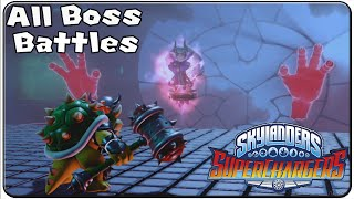 Skylanders Superchargers All Bosses