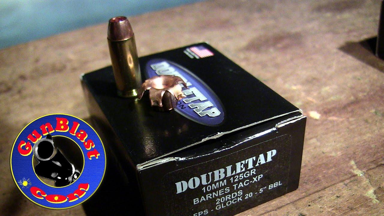 Ballistic Gelatin Testing with Double Tap Ammunition - Gunblast com