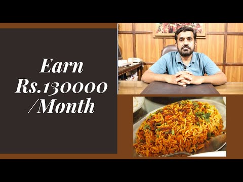Earn 130K Per Month   Biryani Business idea   Make Money with small investment