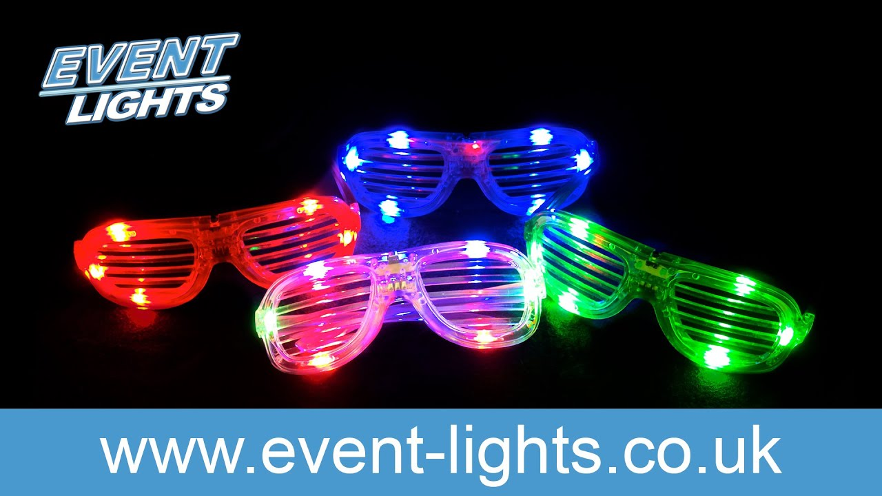 c73a69ce6e LED Disco Shutter Glasses