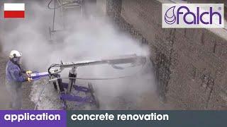 Renowacja betonu: Strumienie wody pod bardzo wysokim ciśnieniem do naprawiania betonu