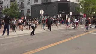 Protesters take to streets in Denver demanding justice for George Floyd