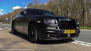 Tuned Rolls Royce Wraith MANSORY with QuickSilver Sport Exhaust