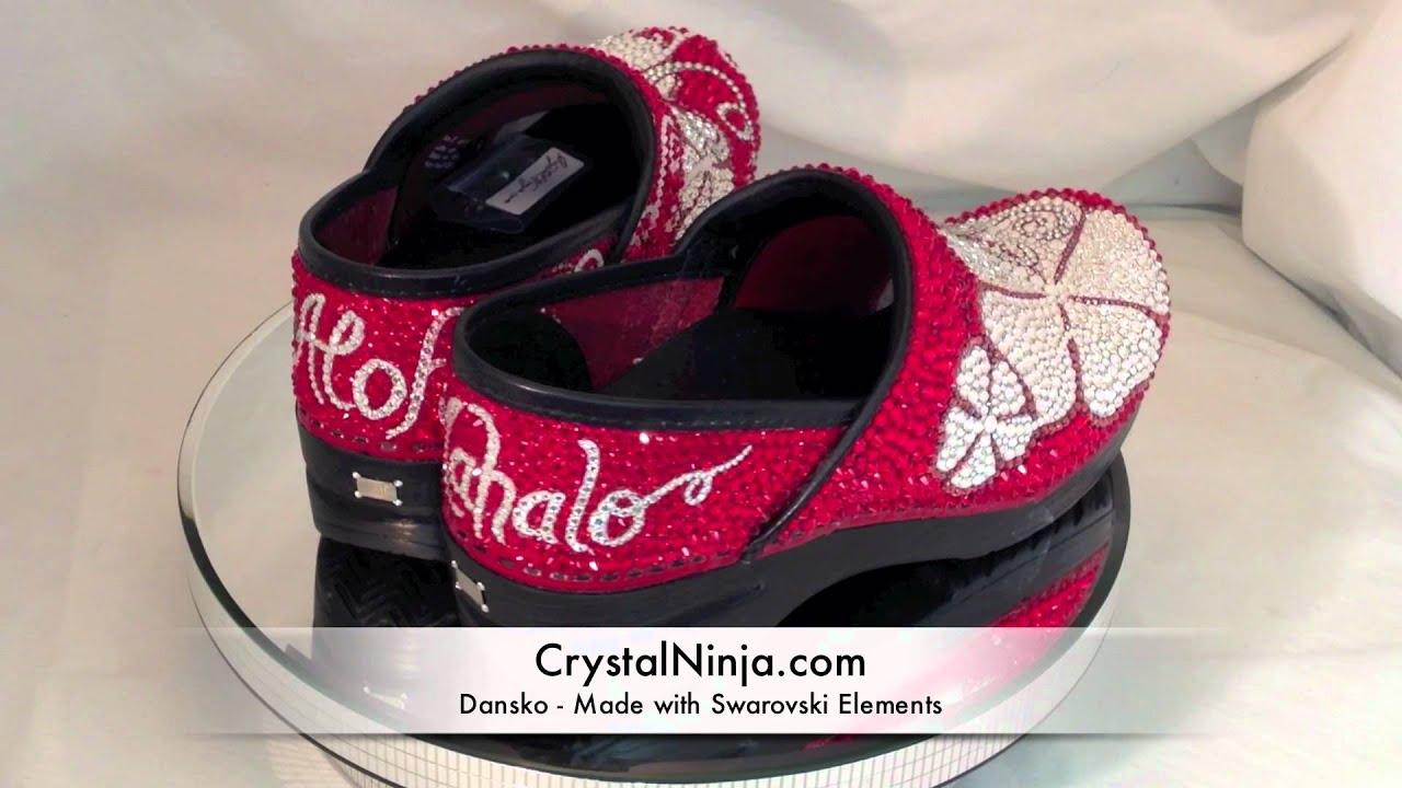 Red Nursing Shoes