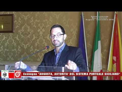 Convegno - Augusta, Autorita del sistema portuale siciliano