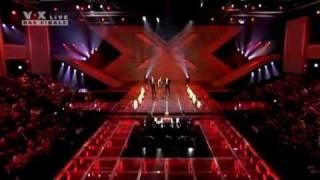 X Factor - EDITA ABDIESKI & XAVIER NAIDOO - Wo willst Du hin... (HQ)