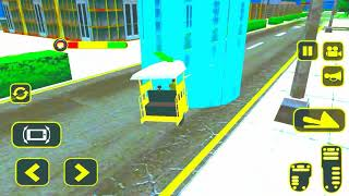 Chingchi Rickshaw Game | Tuk Tuk Chingchi Auto Rickshaw Game | Auto Driving | simulator| LR Gameplay screenshot 3