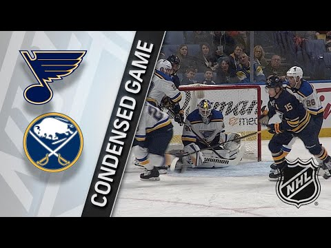 02/03/18 Condensed Game: Blues @ Sabres