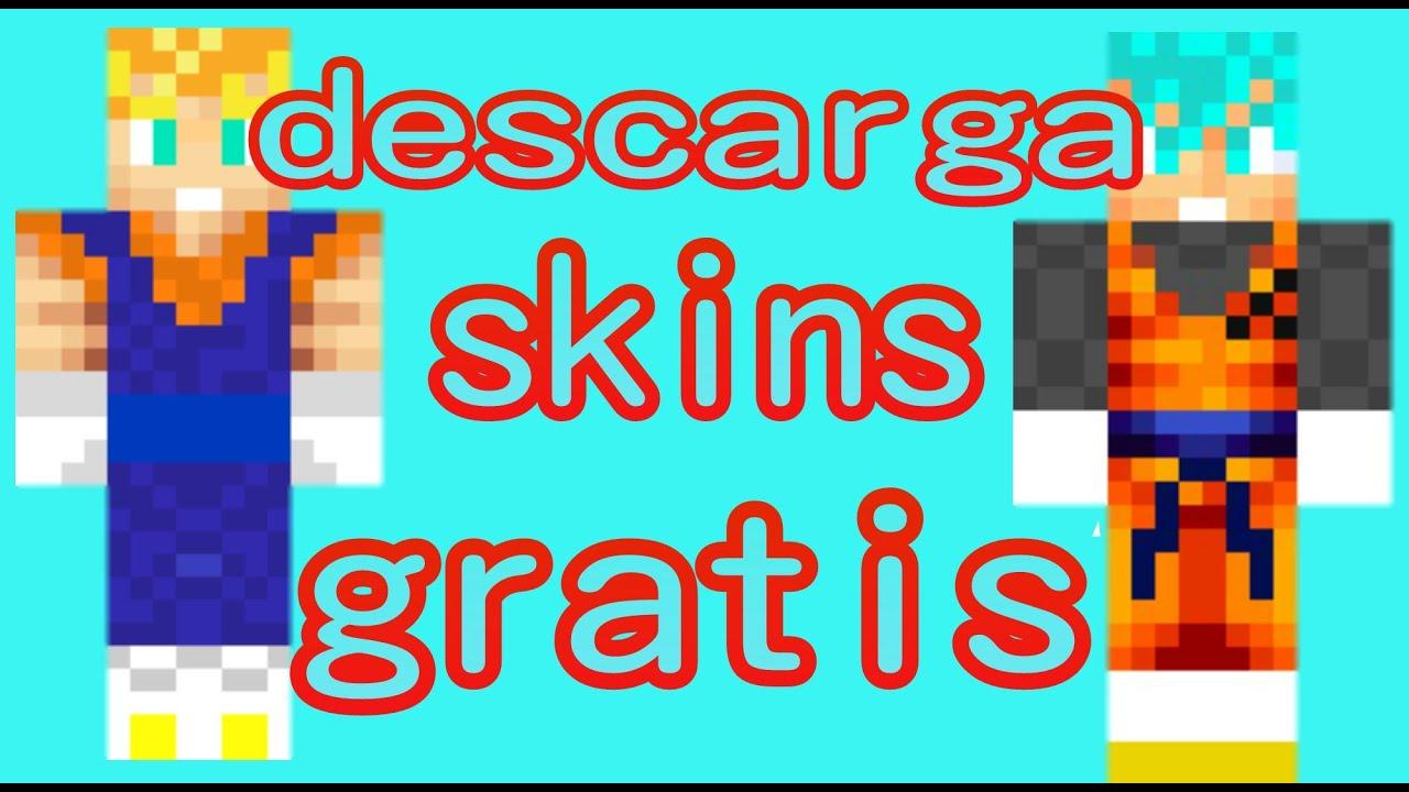 Como Descargar Skins Fácil Y Gratis Para Minecraft YouTube - Skins para minecraft pe descargar gratis