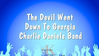 The Devil Went Down To Georgia - Charlie Daniels Band (Karaoke Version)