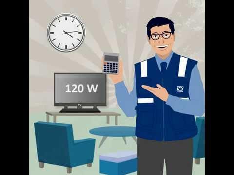 ¿Cómo calculo el consumo de mis artefactos eléctricos? - Animación