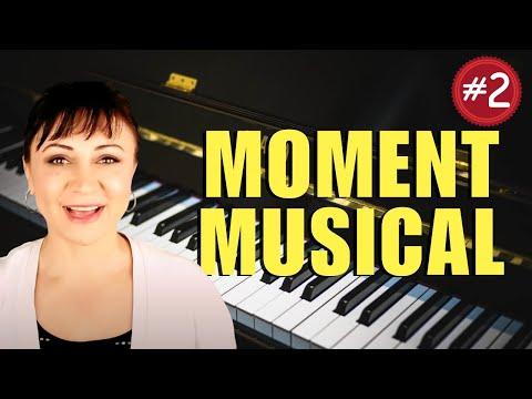 Schubert Moment Musical Op. 94 #3 Piano Tutorial - Part 2