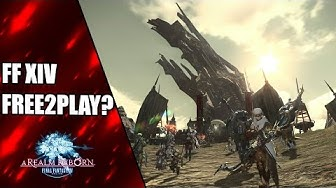 Free to Play bis Level 35 - Final Fantasy 14