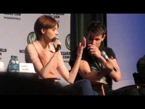 Karen Gillan And Matt Smith - Least Favorite Time On The Show