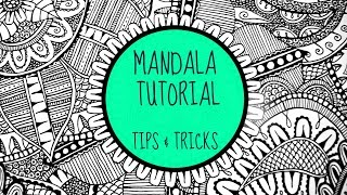 The Secret To Drawing A Mandala (Fancy Doodling)