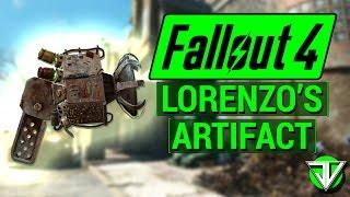 FALLOUT 4 How To Get LORENZO S ARTIFACT Gamma Gun Unique Weapon Guide