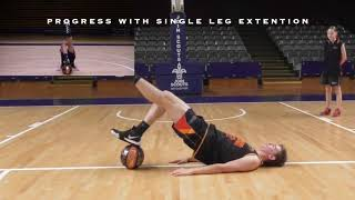 STRENGTH BIULDING AND INJURY PREVENTION- SA County Basketball Warm Up and Injury Prevention Guide