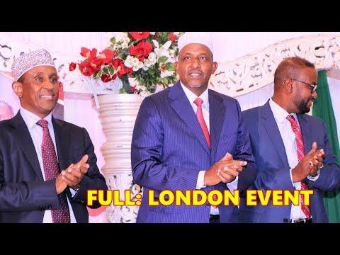 SOO DHOWEYNTA MADAXDA SOMALIDA KENYA | ABK | DUALE | HAJI | Y. HASSAN | LONDON FULL EVENT 2019 Mp3