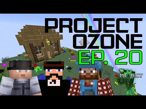 Minecraft Project Ozone #20 - Phantom Knight troubles
