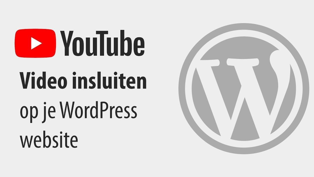 9d0c9aedbe53ce Hoe je een YouTube video kunt embedden op je website - Webtalis