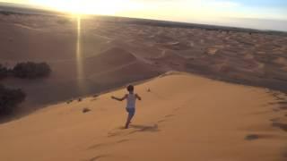 Hilal et Youn dans les dunes 2017 Video