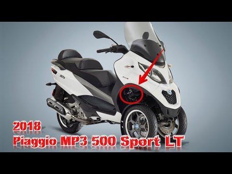 AMAZING ! 2018 Piaggio MP3 500 Sport LT