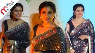 Kajol Hot Look In Sleeveless Blouse & Sexy Saree || Celeb Zone