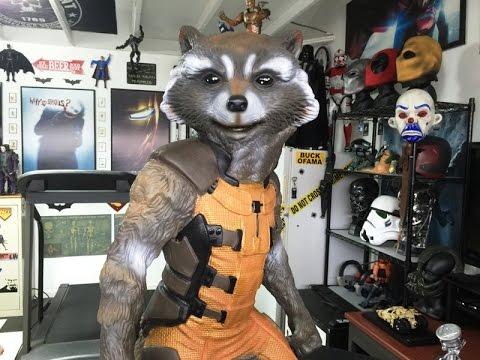 Neca Rocket Raccoon Figure Youtube