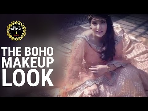 The Bohemian Bridal Makeup Look | Truly Bridal By Kalyan Jewellers