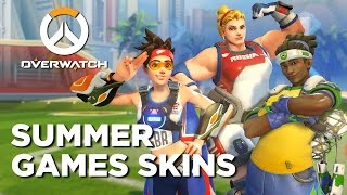 Overwatch Summer Games - All the New Skins