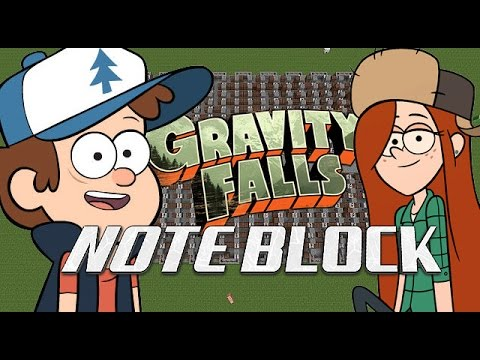 Minecraft NOTEBLOCK GRAVITY FALLS THEME SONG (DOWNLOAD)