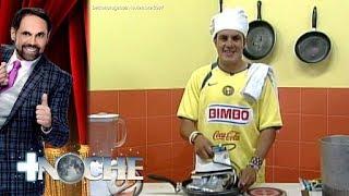 XII Aniversario: Cuauhtémoc Blanco prepara ricos tacos a la plancha | + Noche | Distrito Comedia