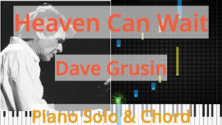 🎹Solo & Chord, Heaven Can Wait, Dave Grusin, Synthesia Piano