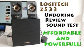 Logitech Z533--REVIEW---SOUND TEST---UNBOXING (4k)