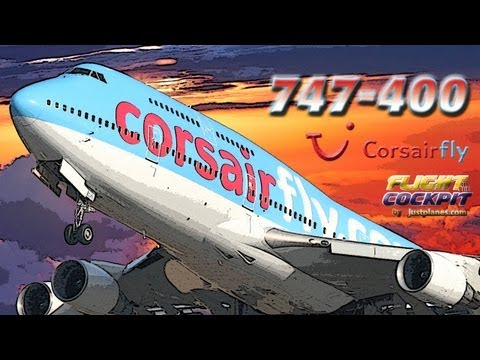 CORSAIRFLY 747-400 Paris to Miami
