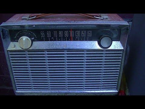 General Electric p780 AM radio repair P780A